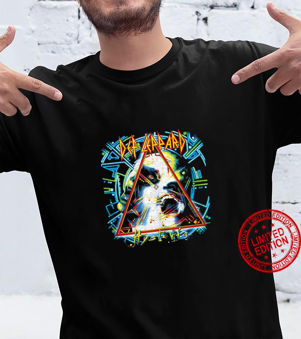 Def Leppard Hysteria Shirt