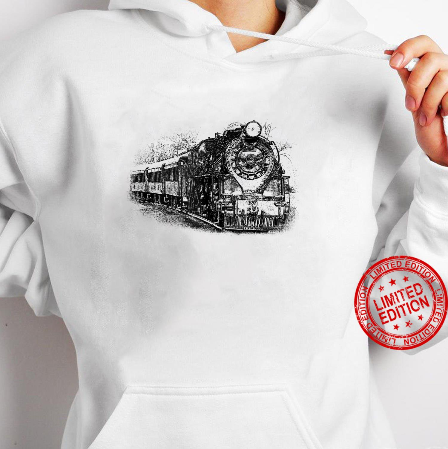 Locomotive and Train Enthusiasts Shirt hoodie