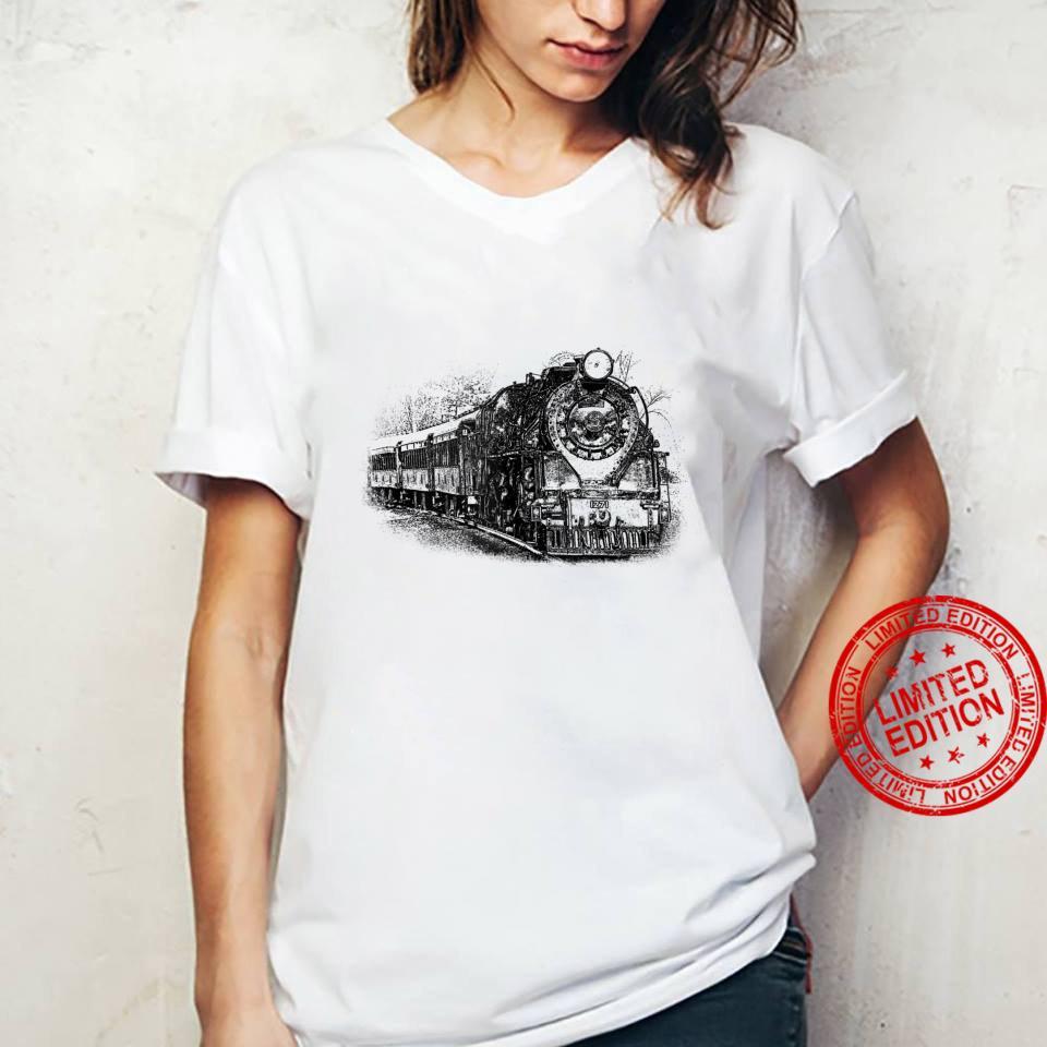Locomotive and Train Enthusiasts Shirt ladies tee