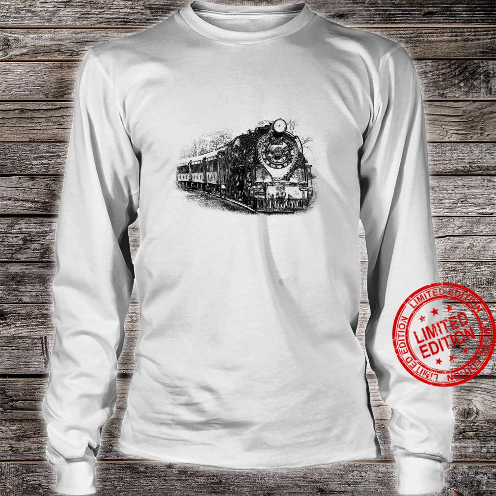 Locomotive and Train Enthusiasts Shirt long sleeved