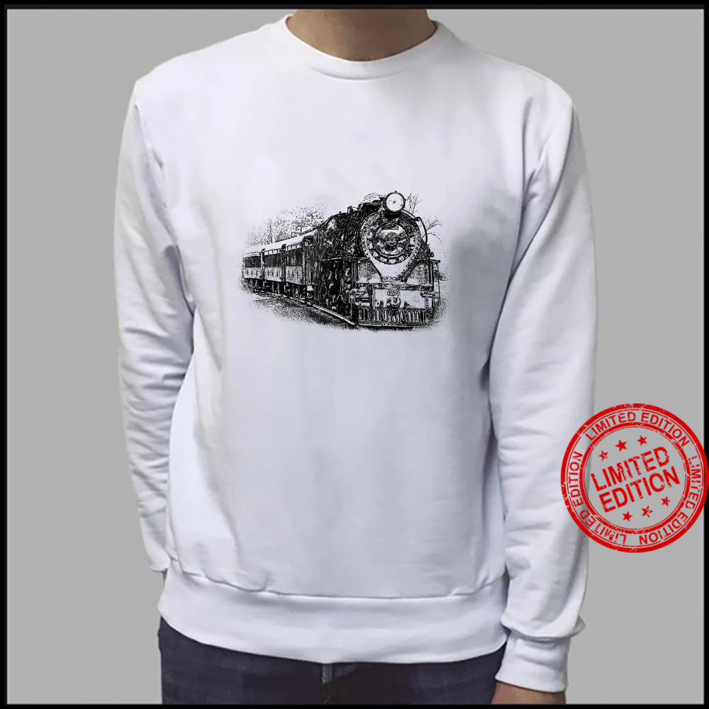 Locomotive and Train Enthusiasts Shirt sweater