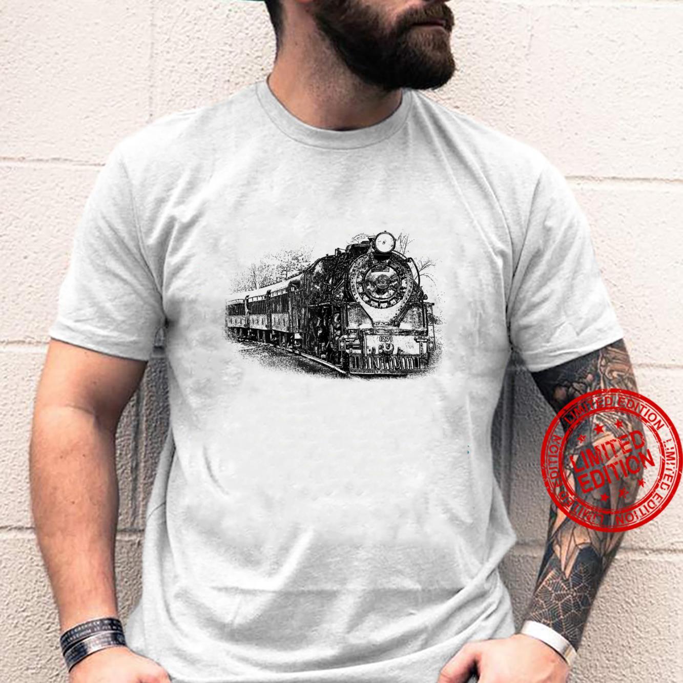 Locomotive and Train Enthusiasts Shirt