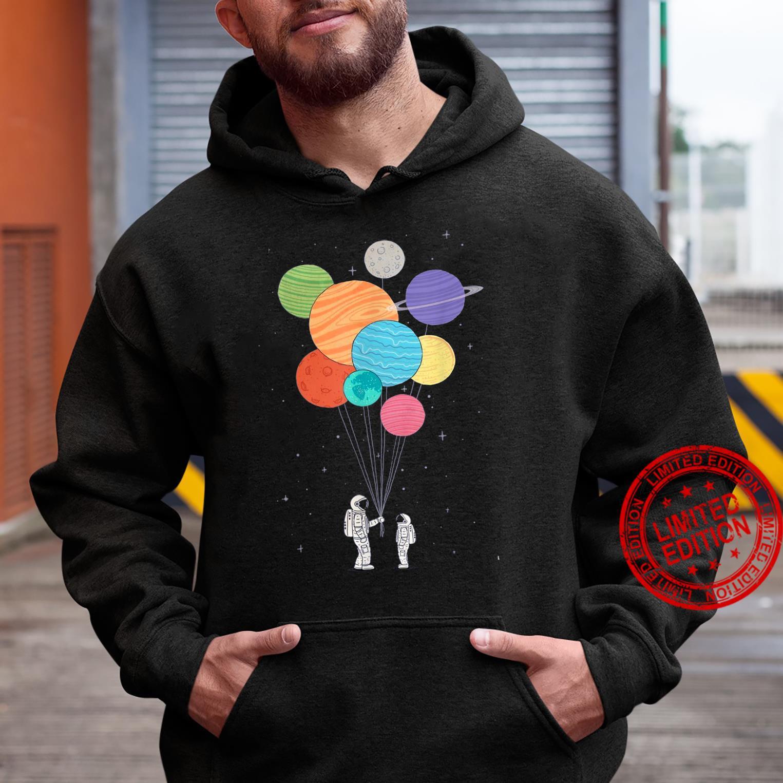 Planet Balloons Shirt hoodie