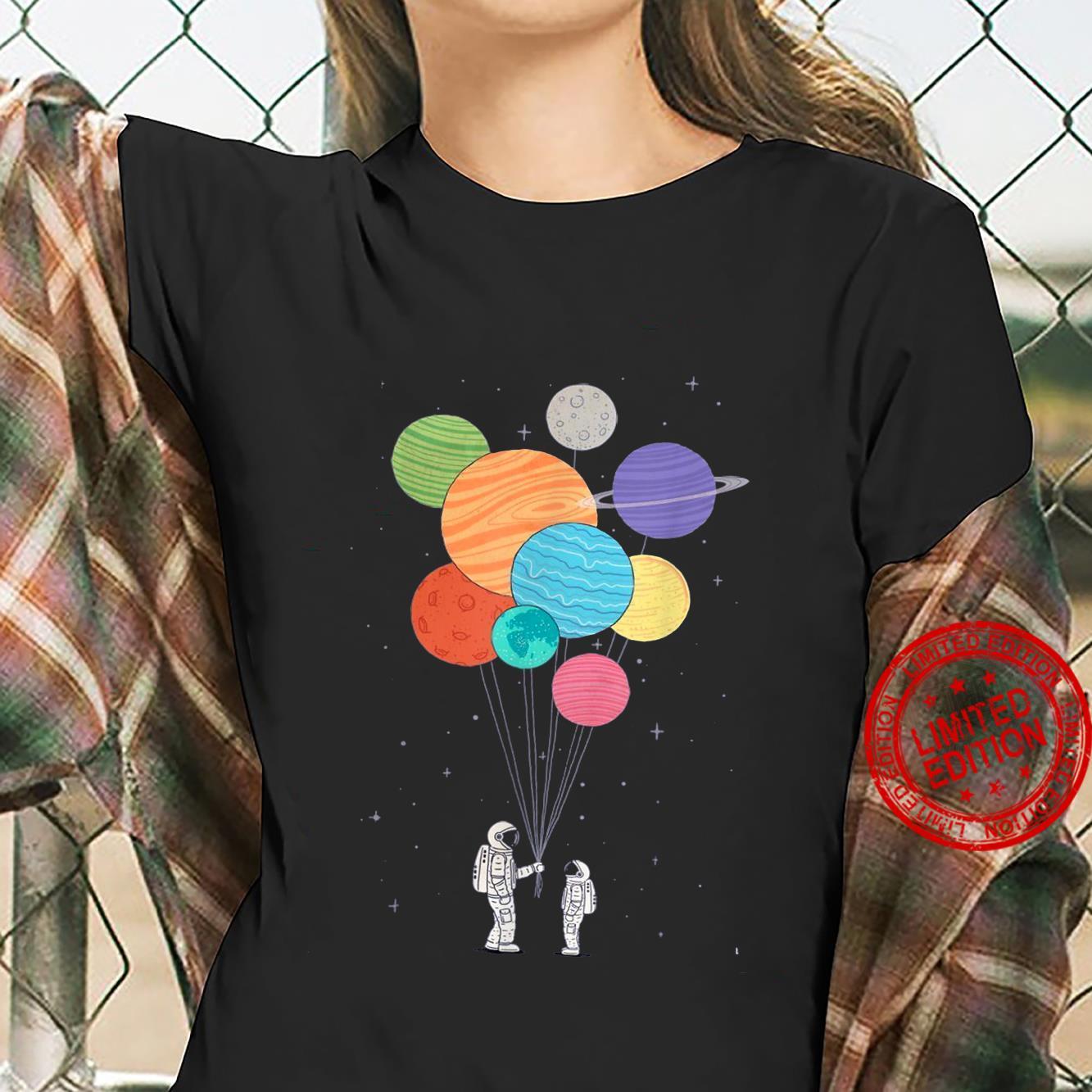 Planet Balloons Shirt ladies tee