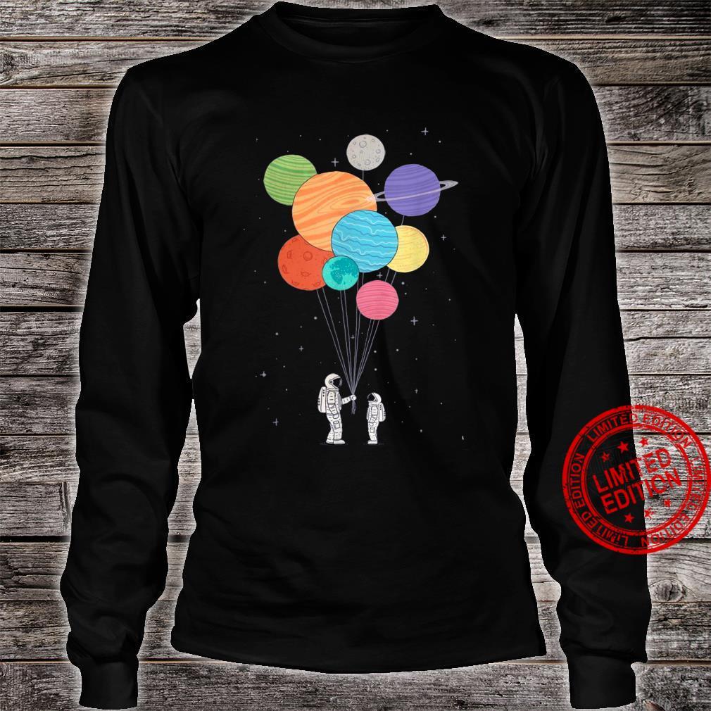 Planet Balloons Shirt long sleeved