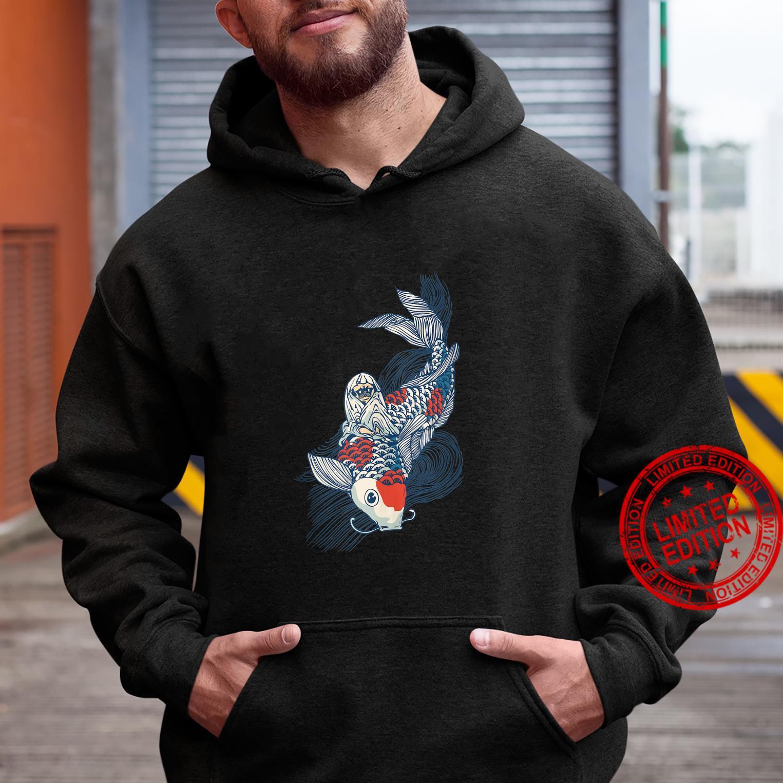 Pug and Koi Shirt hoodie
