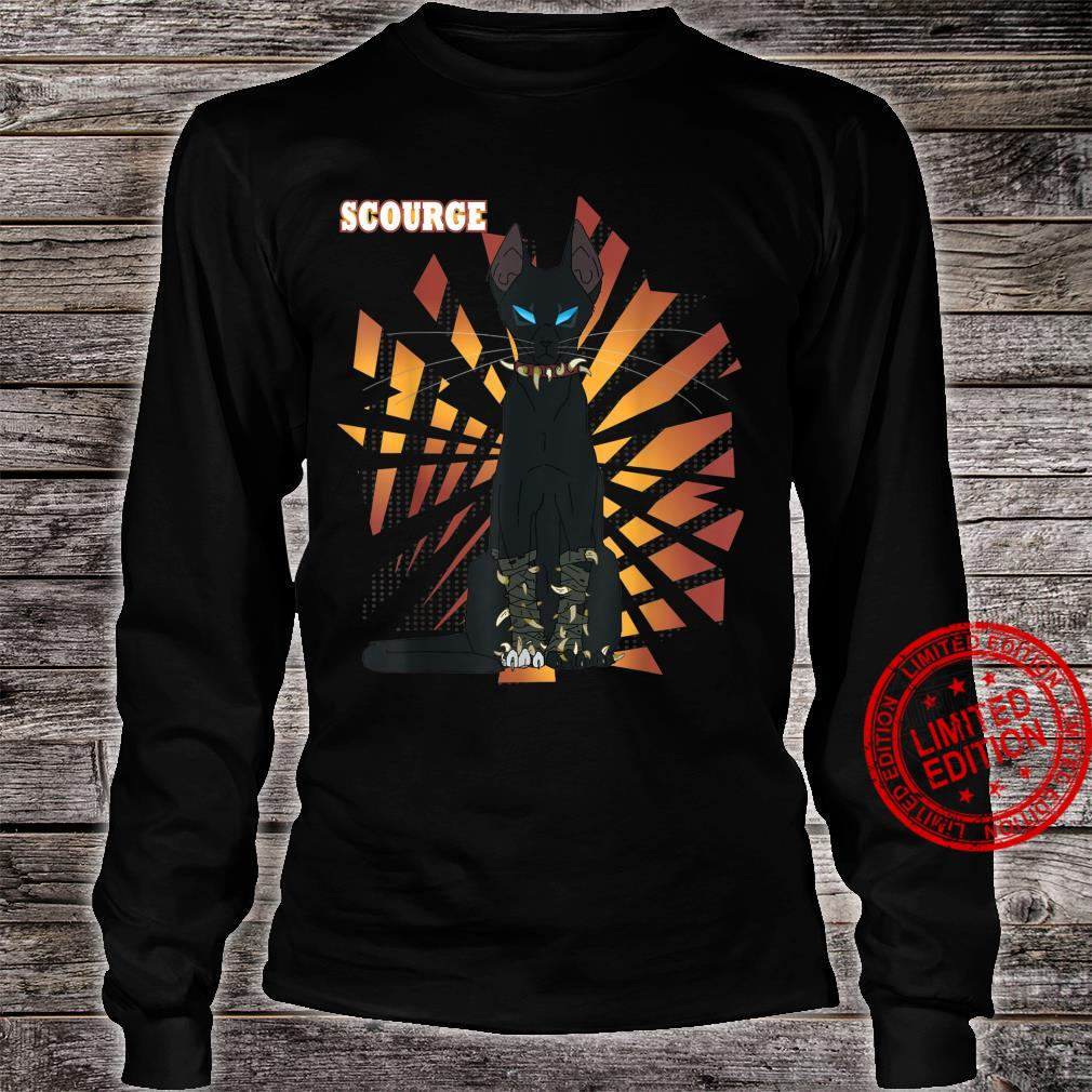 Warrior Cats Scourge from Warriors book Series Shirt long sleeved
