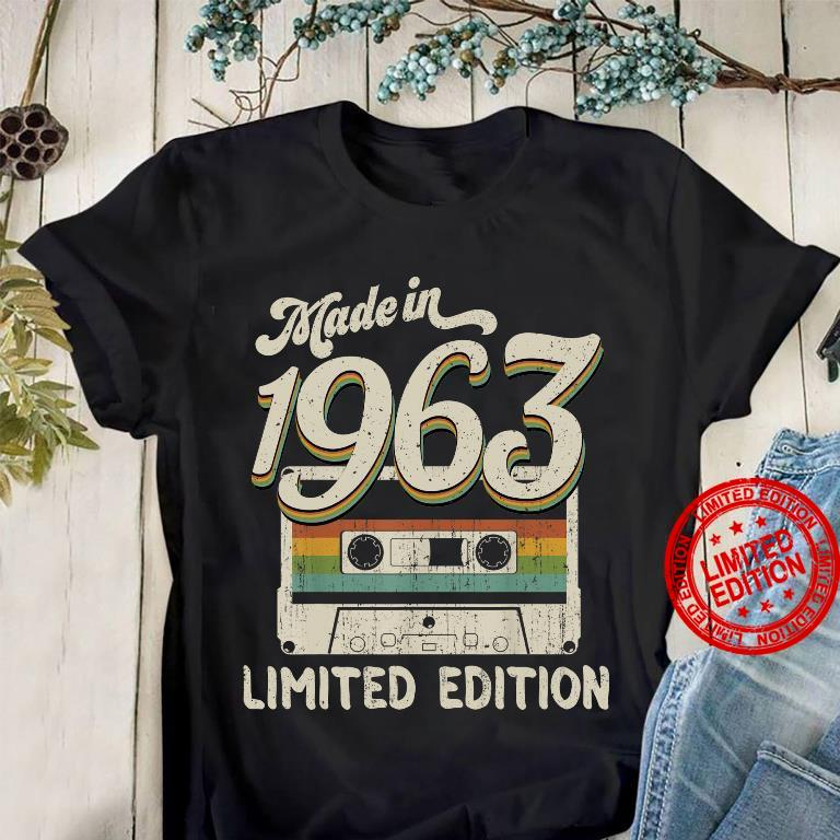 Made In 1963 Limited Edition Shirt