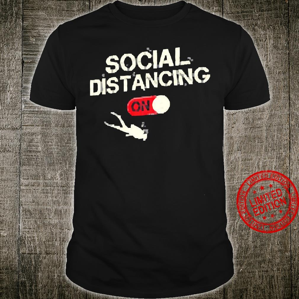 Social Distancing On Shirt unisex